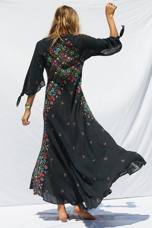 2018 Nostalgia boho Maxi Dress - Nostalgiastyles Clothing Store Co.