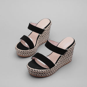 2019 Nostalgia Styles summer high heels wedges platform - Nostalgiastyles Clothing Store Co.