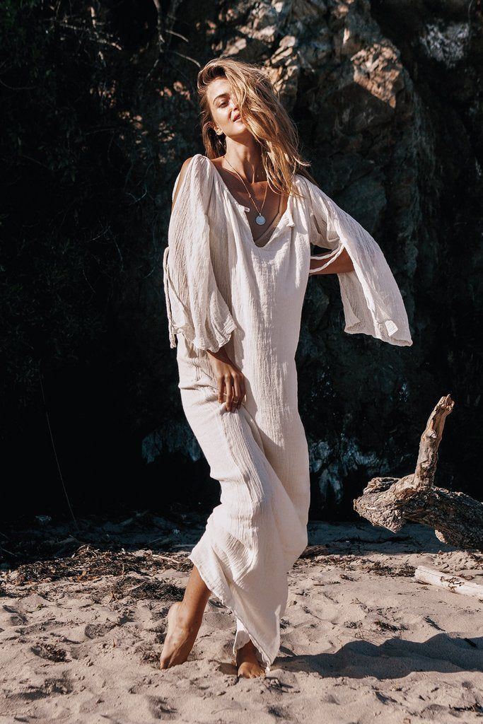 Nostalgia  Bohemian Maxi Long Dress