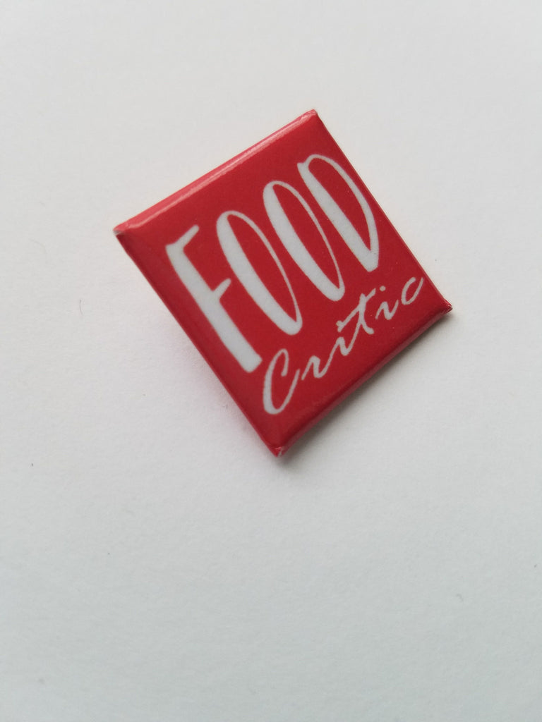 Food Critic Badge - the5FootCritic