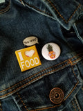 I Love Food Badge - the5FootCritic