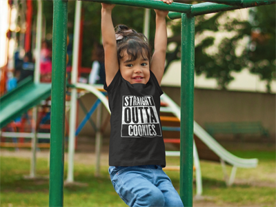 Cookie Bandit - Toddler Tee - the5FootCritic