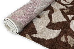 Pablo Abstract Painting Rug - Brown Beige
