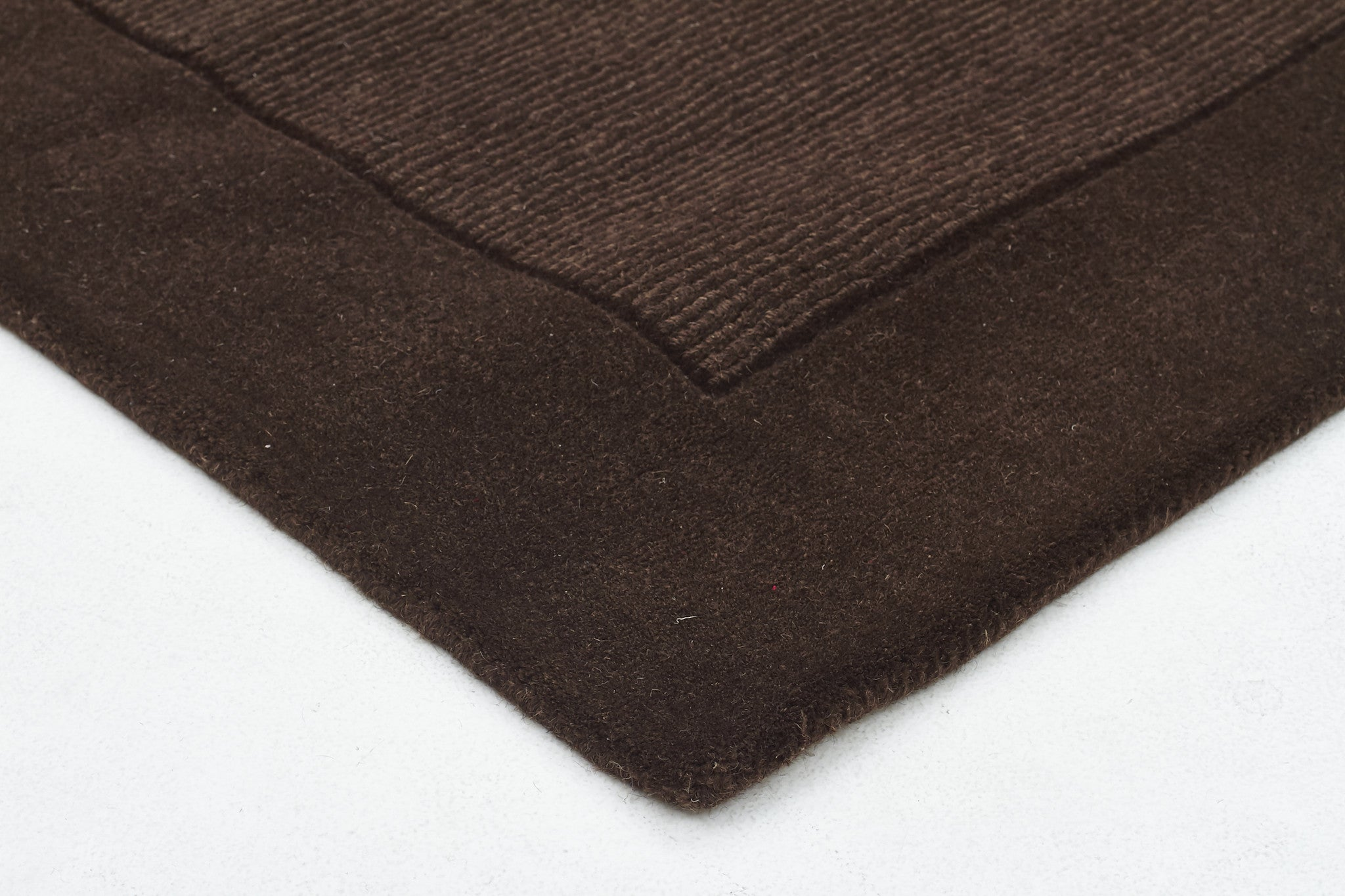 Timeless Trends Wool Rug - Chocolate