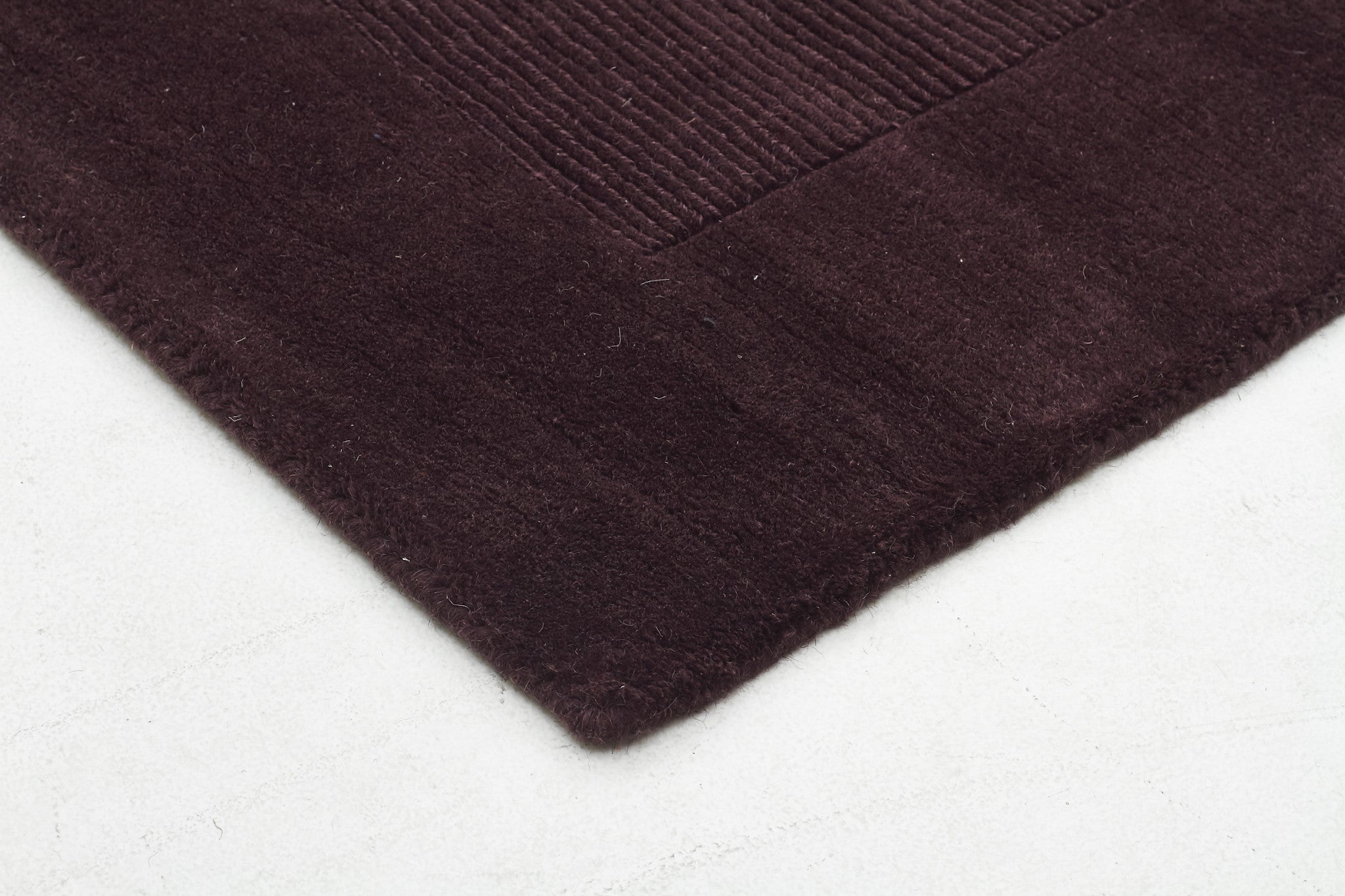 Timeless Trends Wool Rug - Purple