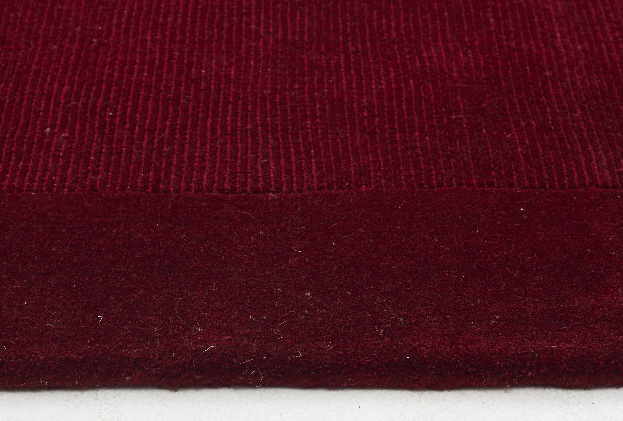 Timeless Trends Wool Rug - Red