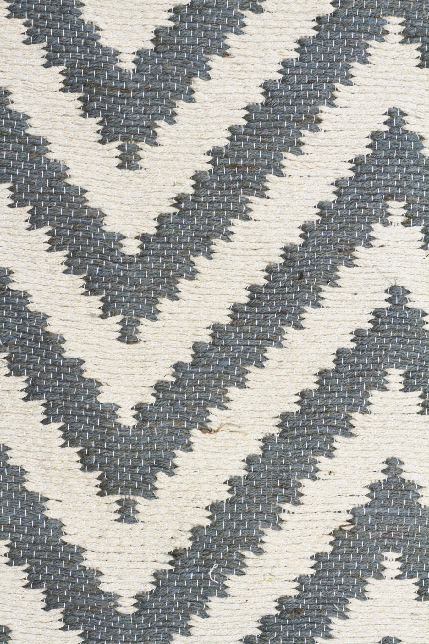 Abode Chevron Rug - Blue