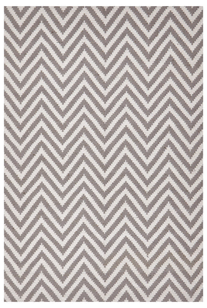 Abode Chevron Rug - Grey