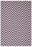 Abode Chevron Rug - Purple