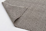Abode Diamond Rug - Chocolate