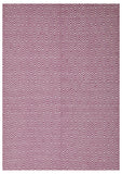 Abode Diamond Rug - Pink