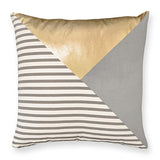 Arlo Gold Charcoal Cushion