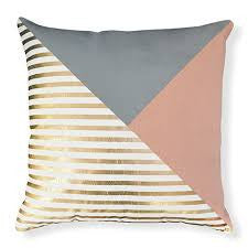 Arlo Gold Rose Cushion