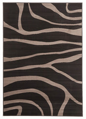 Silver BCF 1003 H11 Rug - Black Charcoal