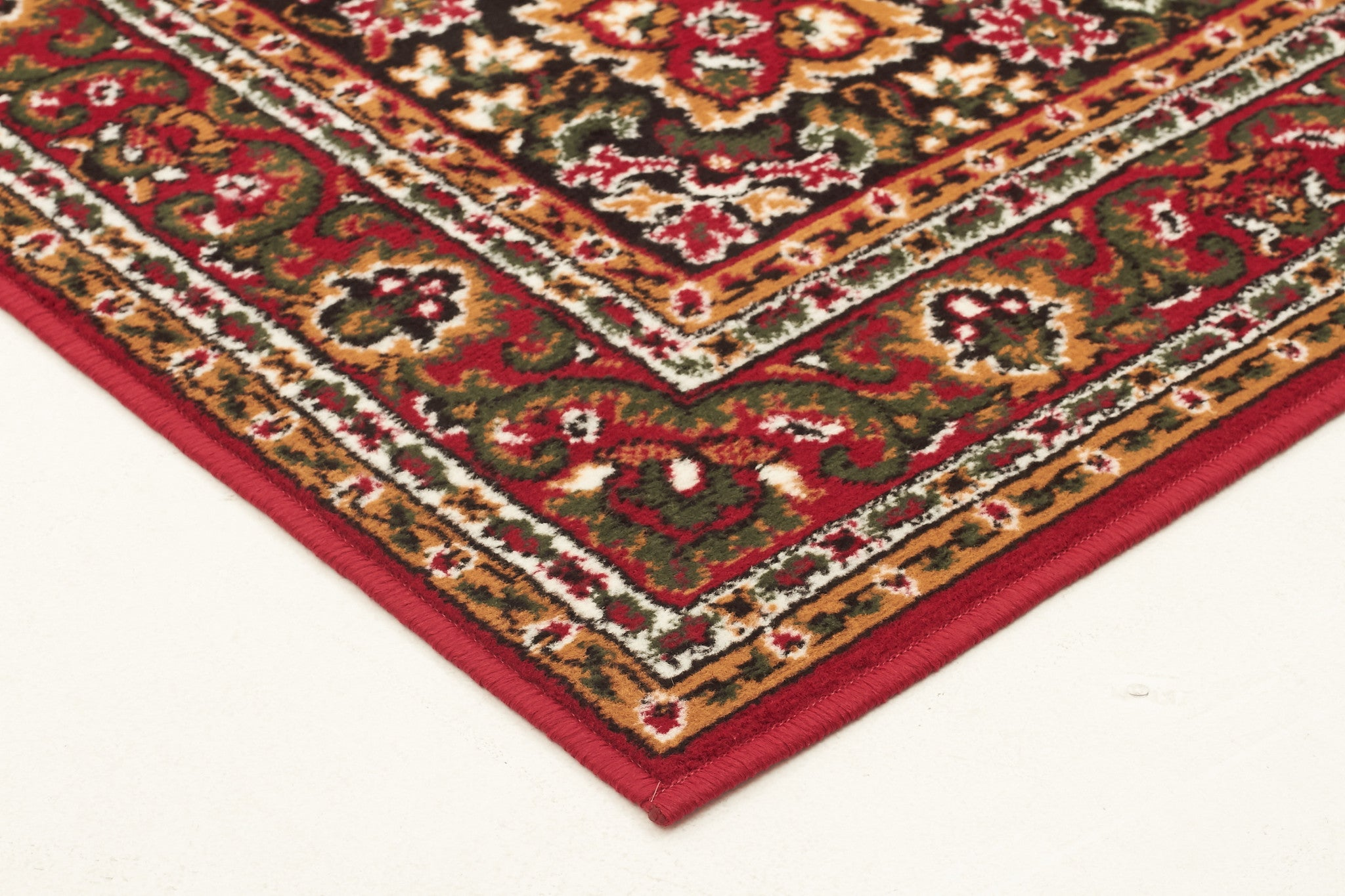 Silver BCF 1020 R55 Rug - Red