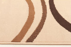 Silver BCF 1147 S33 Rug - Brown