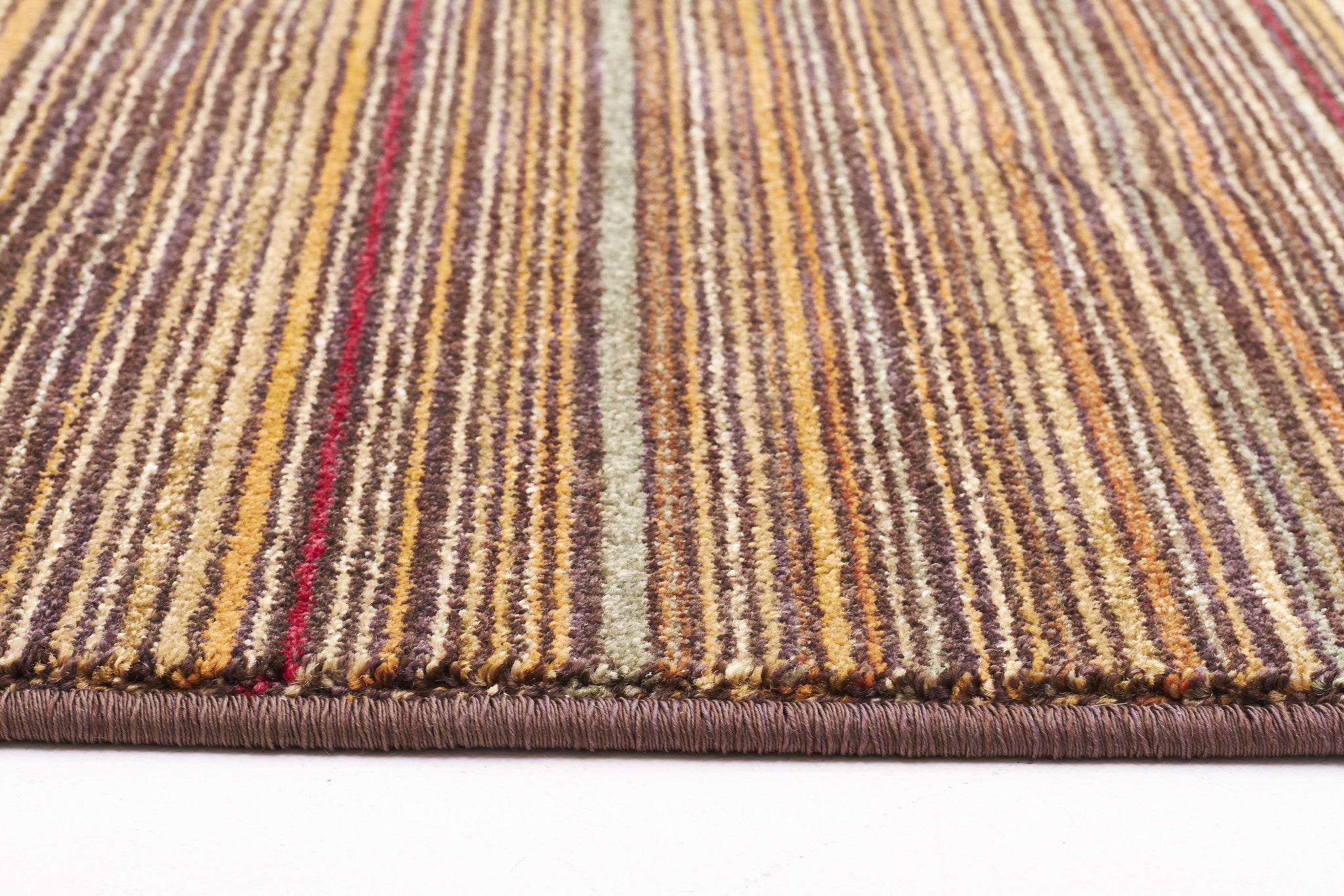 Traditional Stripped Rug Beige