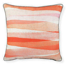 Biscay Coral Cushion