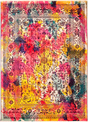 Carnivale Traditional Style Colourful Rug