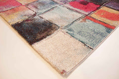 Carnivale Painted Squares Colourful Rug