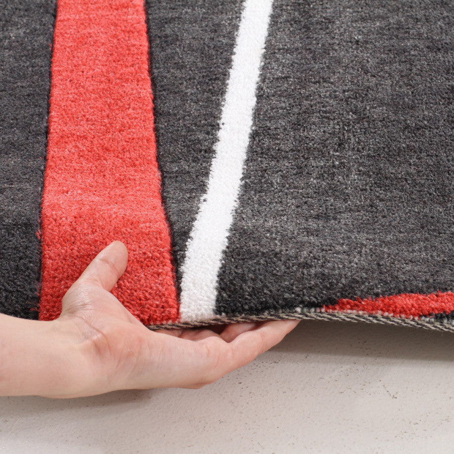 City 553 Rug - Red