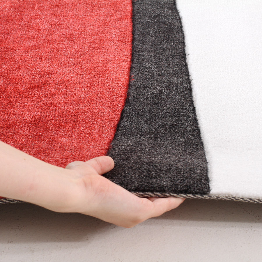City 556 Rug - Red