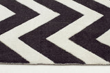City 559 Rug - Black White