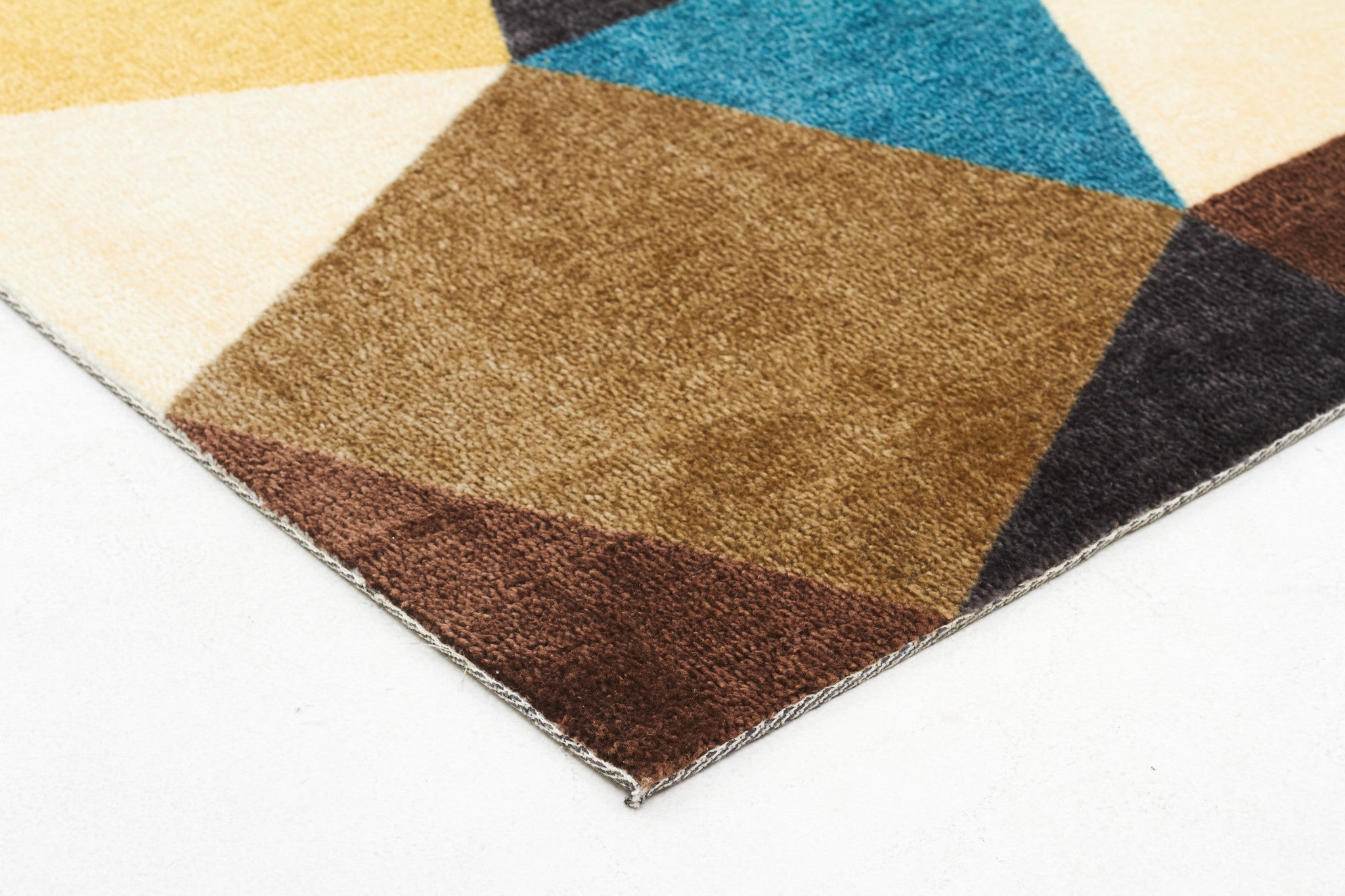 City 564 Rug - Blue Green Brown