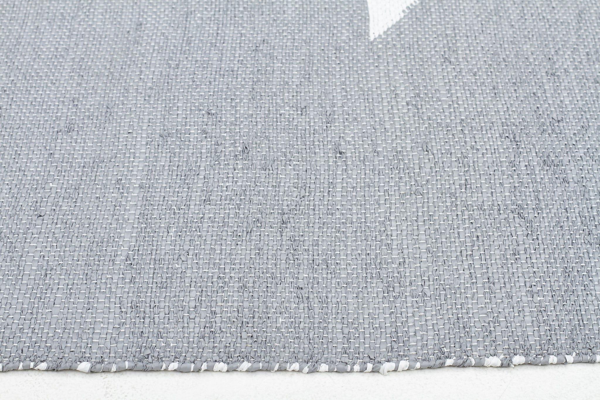 Coastal Indoor Out door Rug Star Grey White