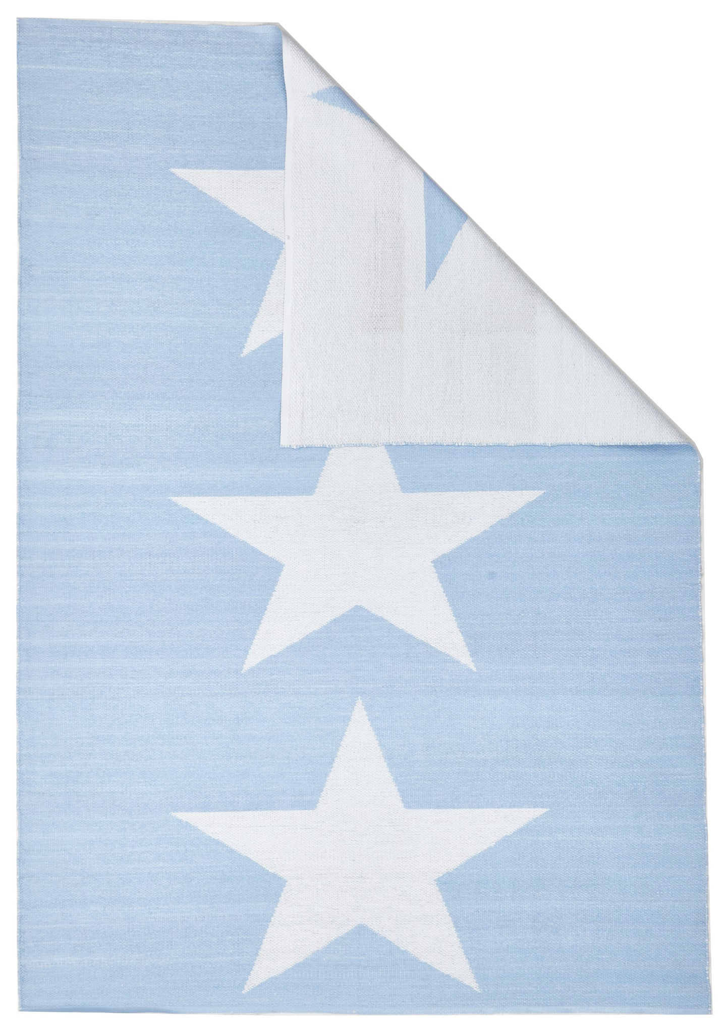 Coastal 4 Indoor Outdoor Rug - Star Sky Blue White