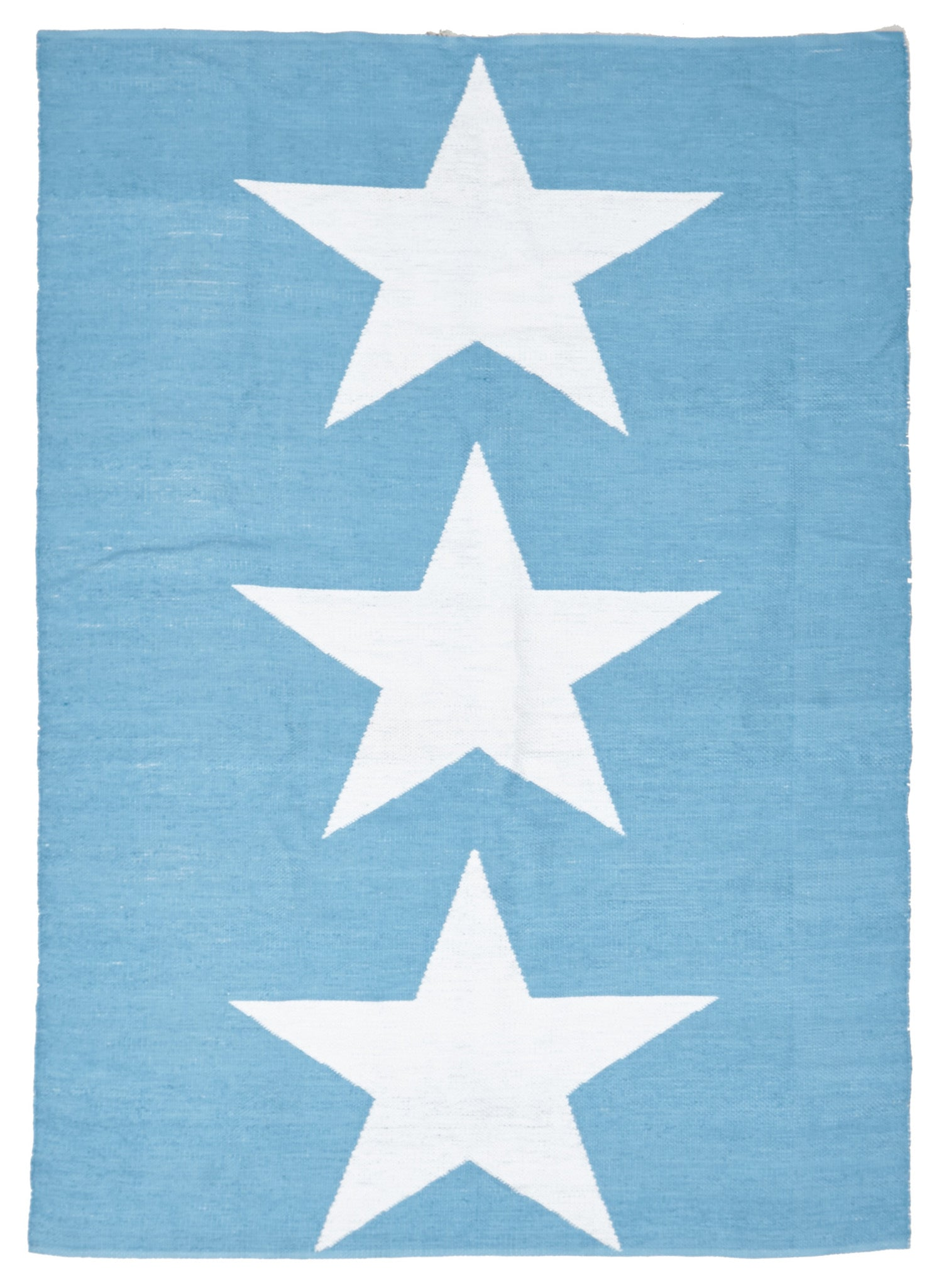 Coastal 4 Indoor Outdoor Rug - Star Turquoise White