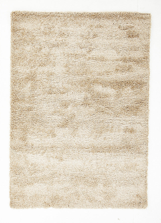 Cosmo Plain Shaggy Rug - Light Beige