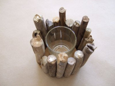 Candle Holder of Sticks