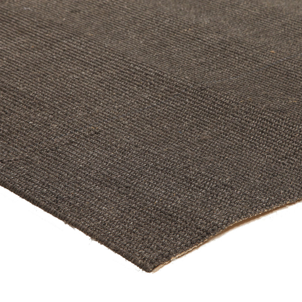Natural Sisal Rug Boucle Charcoal
