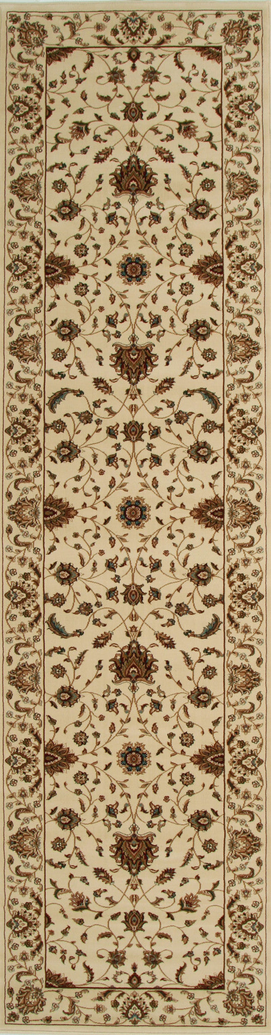 Stunning Formal Classic Design Rug Cream
