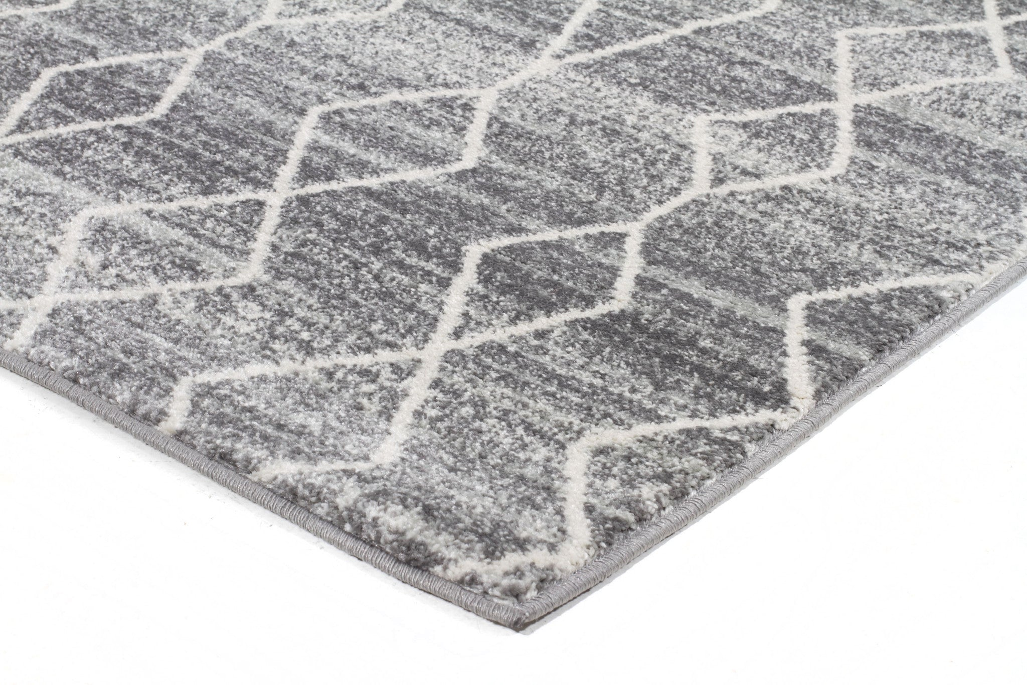 Remy Silver Transitional Rug