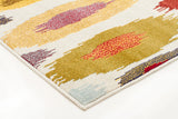 Alure Modern Multi Coloured Rug