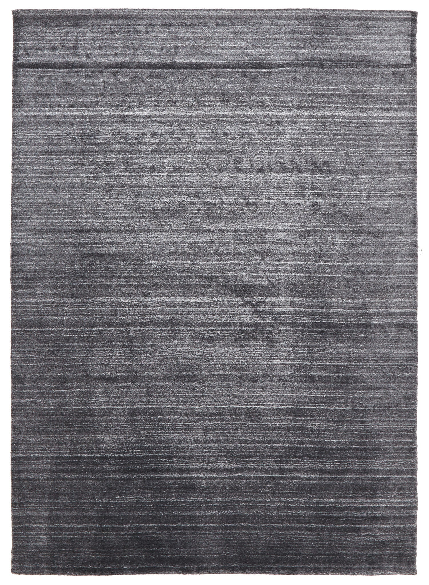 Manhattan Stylish Hand Made Rug Charcoal