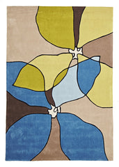 Gold 618 Rug - Blue Beige Green