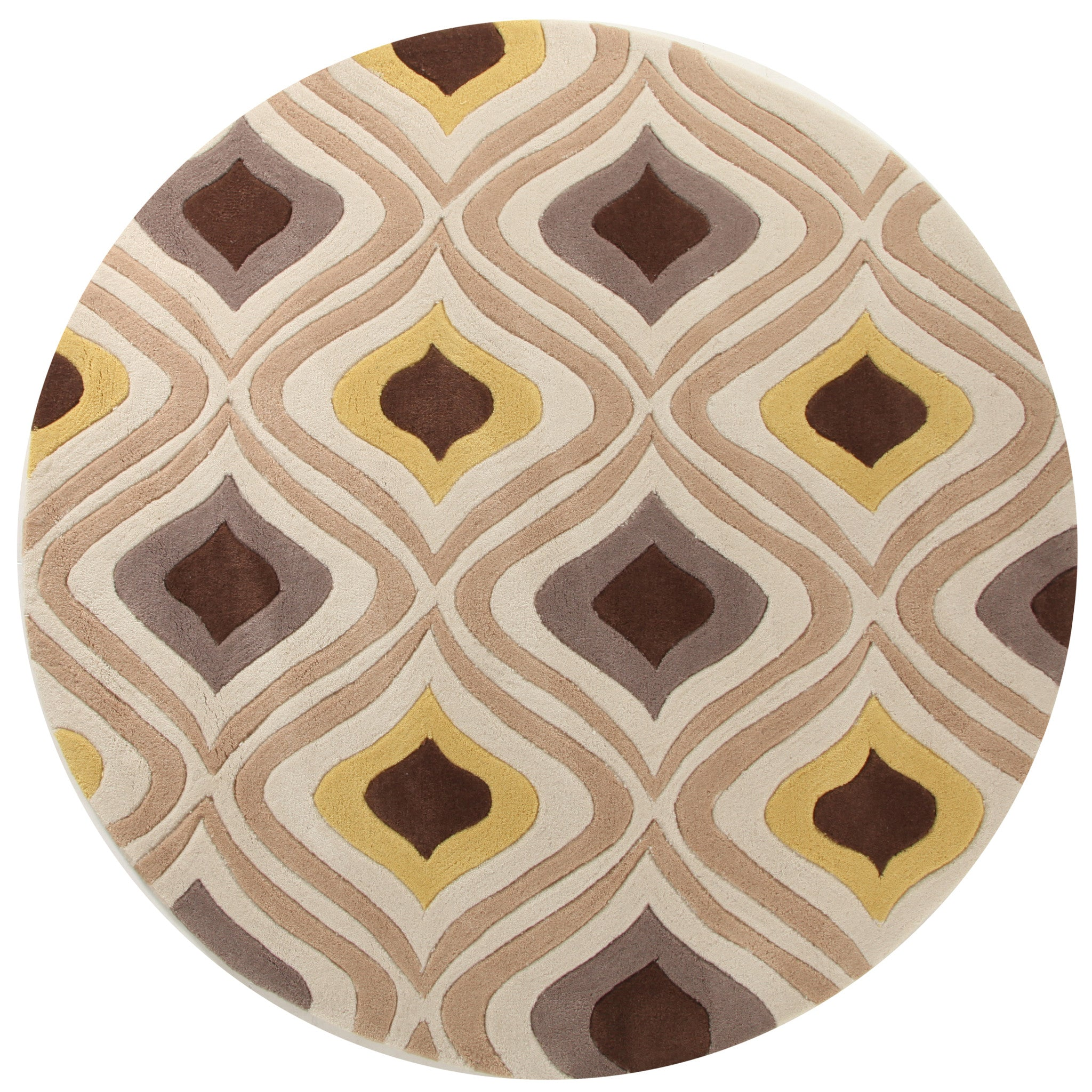 Gold 629 Rug - Brown Gold