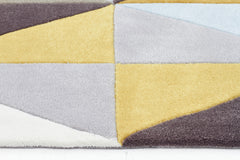 Gold 632 Rug -Yellow Sky Blue