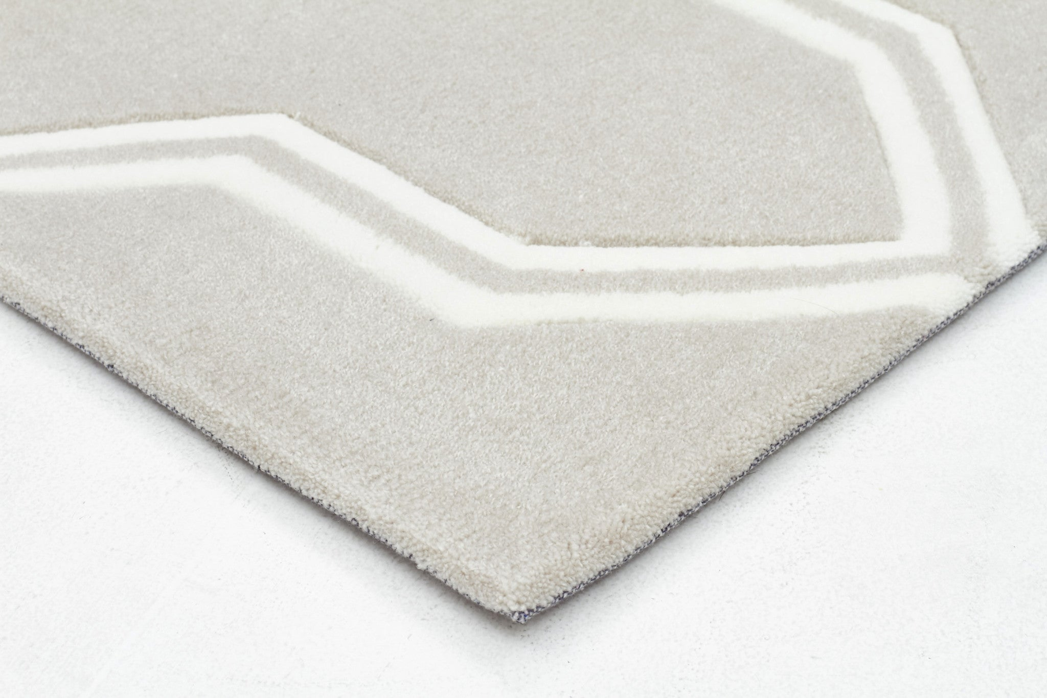 Neo Lattice Design Rug Natural