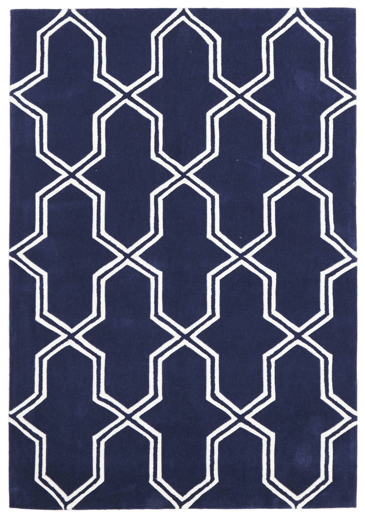Gold 639 Rug - Navy