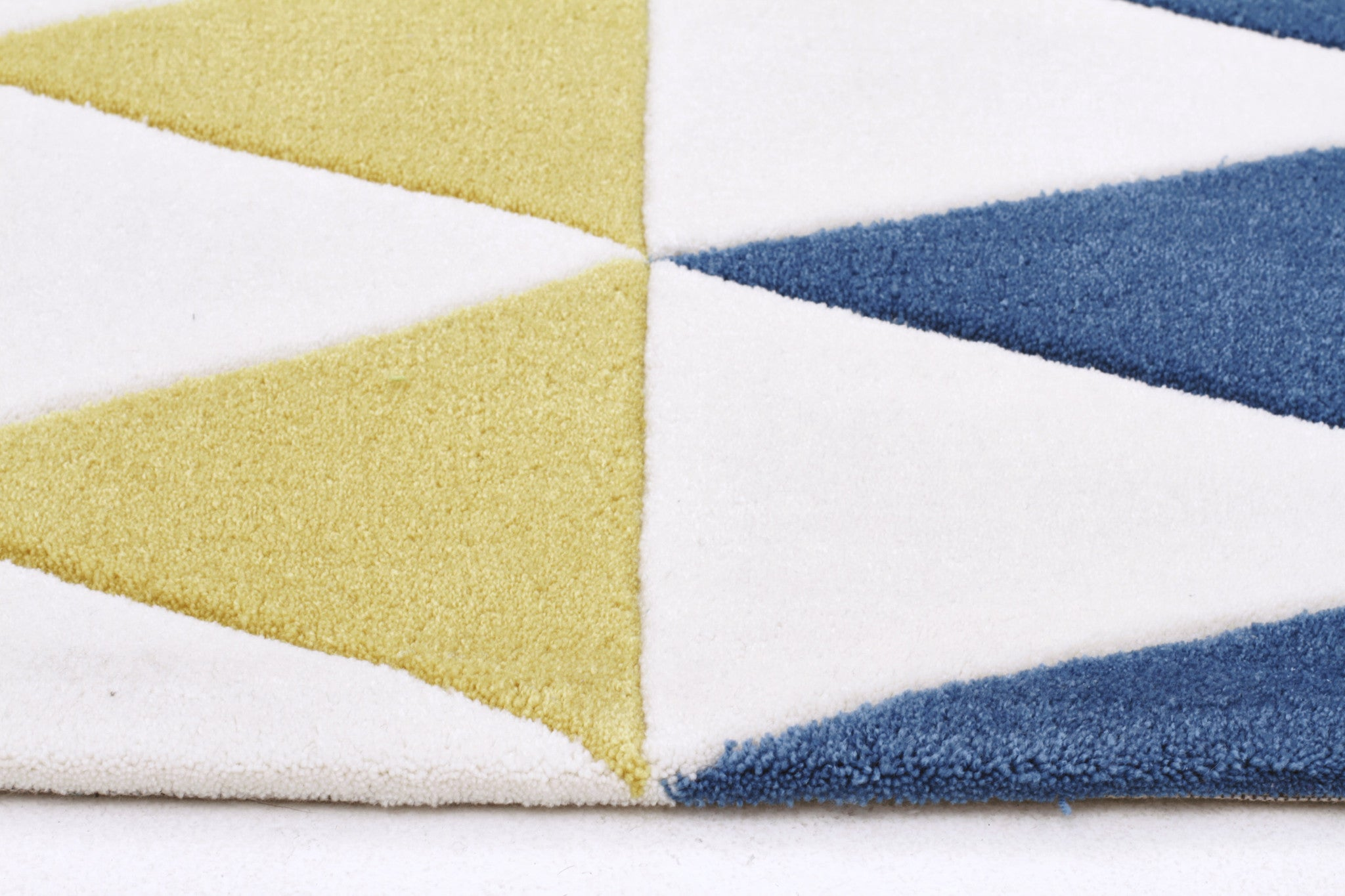 Gold 642 Rug - Multi Coloured Blue