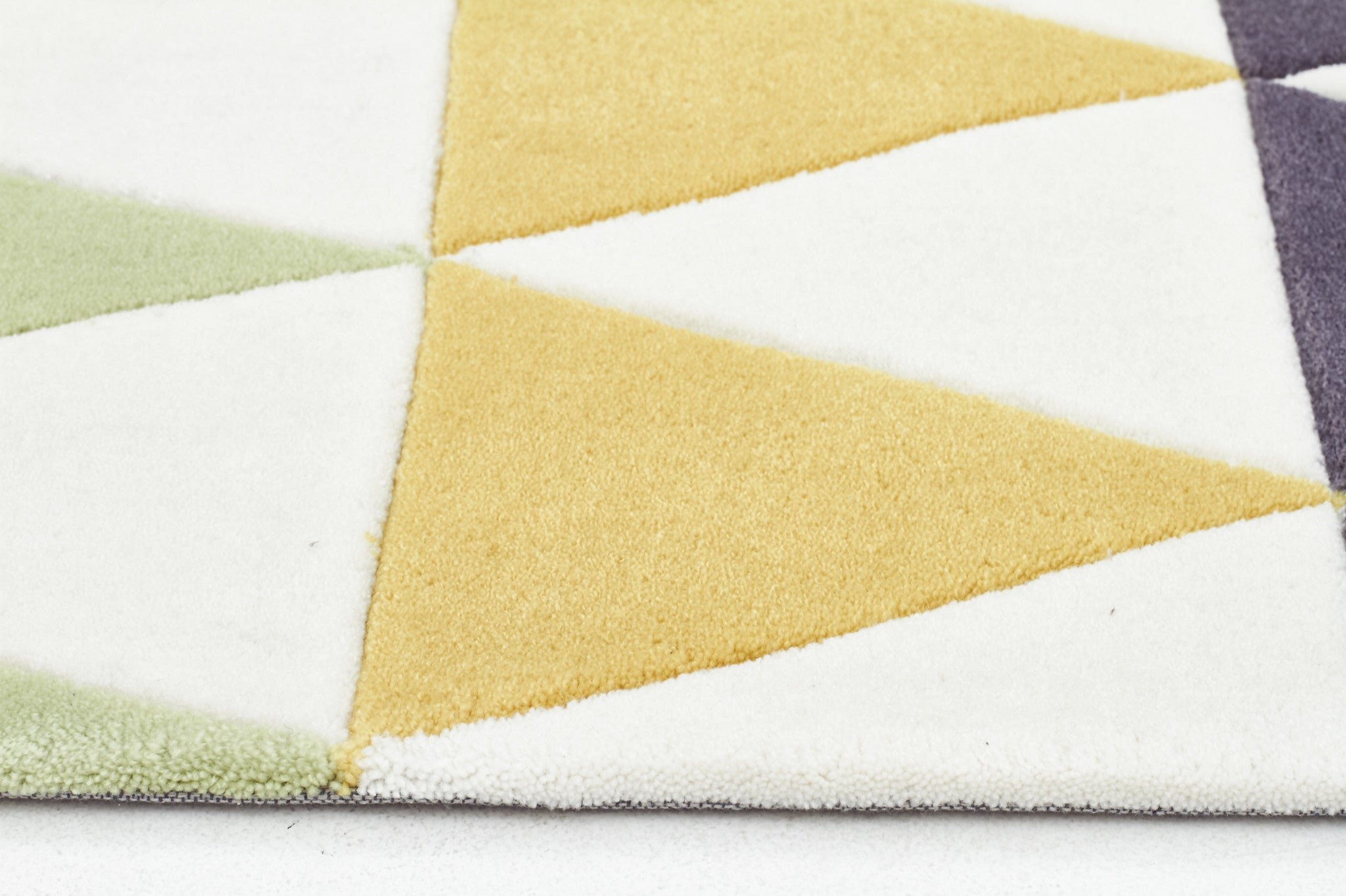 Gold 642 Rug - Multi Coloured Green