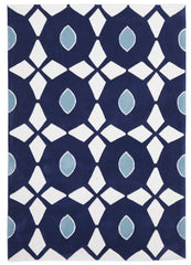 Gold 643 Rug - Navy