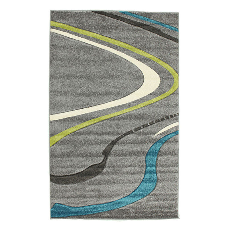 Icon 706 Rug - Grey Blue Green