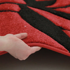 Icon 707 Rug - Red Black