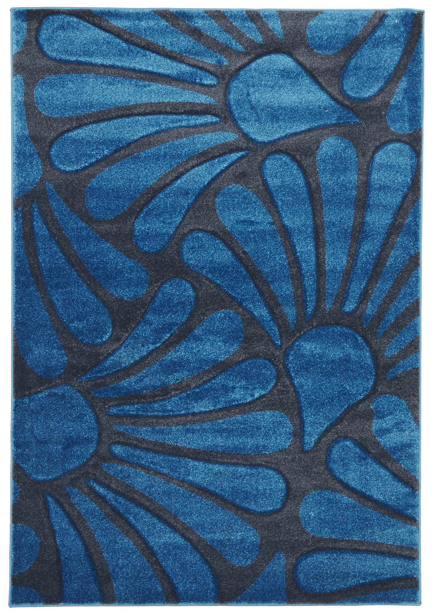 Icon 711 Rug - Blue Charcoal