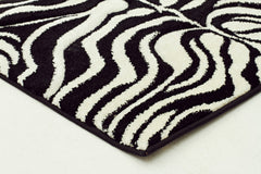 Icon 710 Rug Black Off White